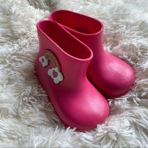 Adorable Toddler Rubber Rain Boots